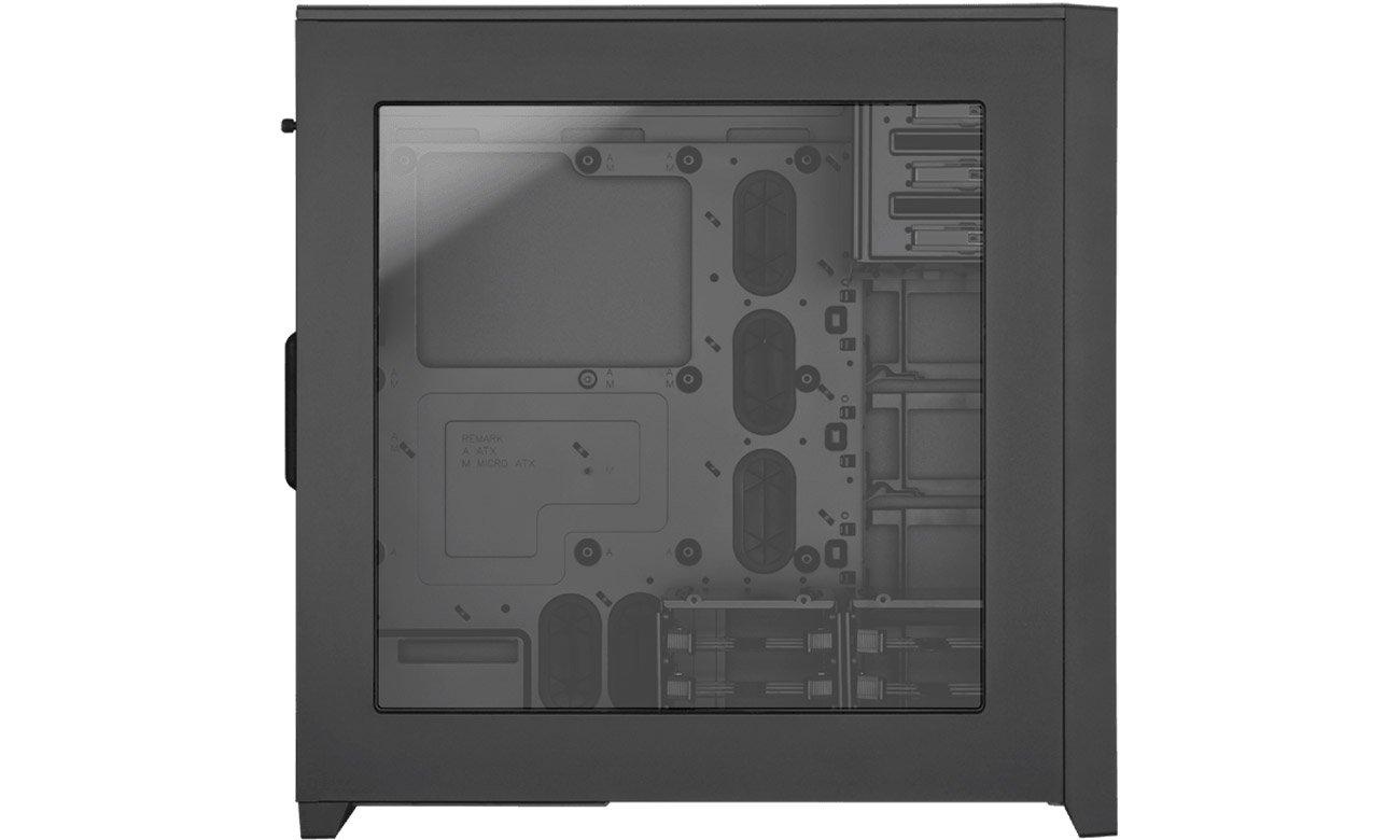 Corsair OBSIDIAN SERIES 750D AIRFLOW przeźroczysty panel