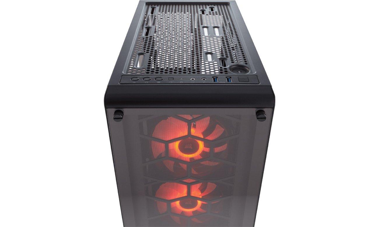 Corsair Crystal Series 460X RGB panel górny