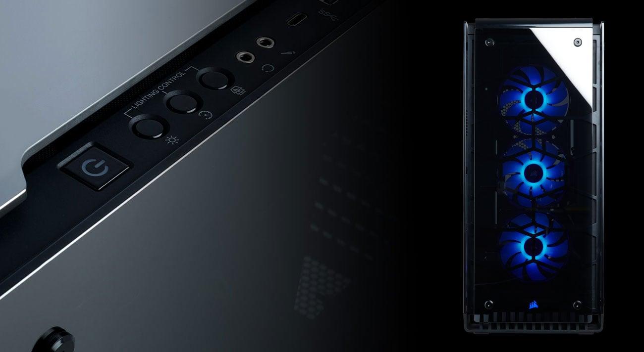 Corsair Crystal 570X RGB Mirror Black -