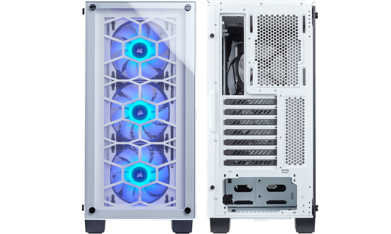 Crystal Series 460X RGB white