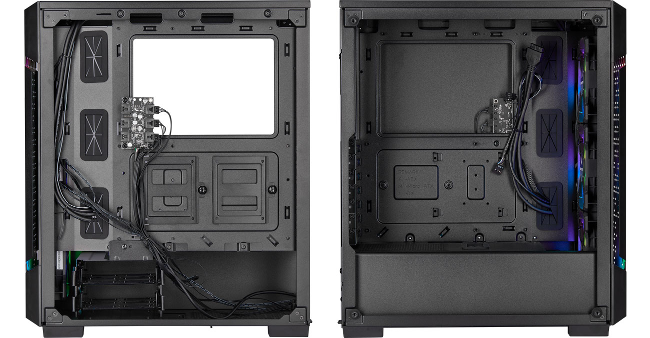Corsair iCUE 220T RGB Airflow - Wnętrze