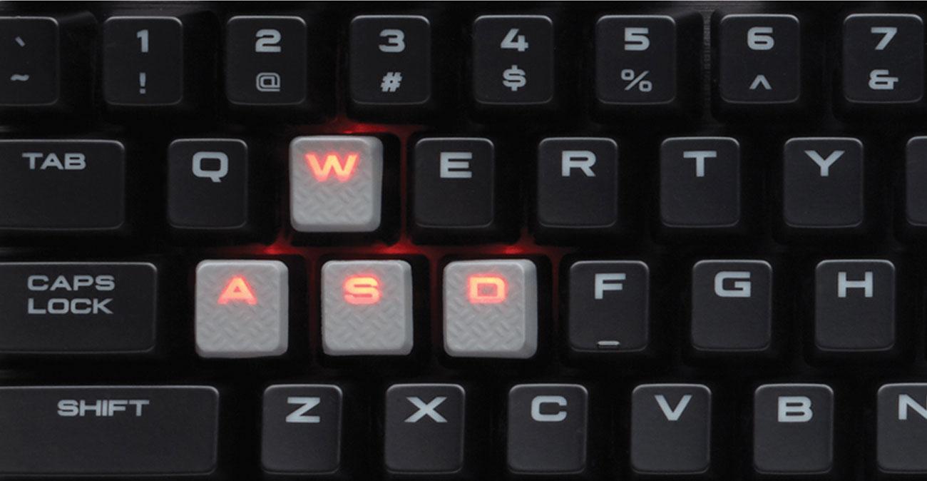 Corsair K70 LUX klawisze dla graczy jednolite podświetlenie
