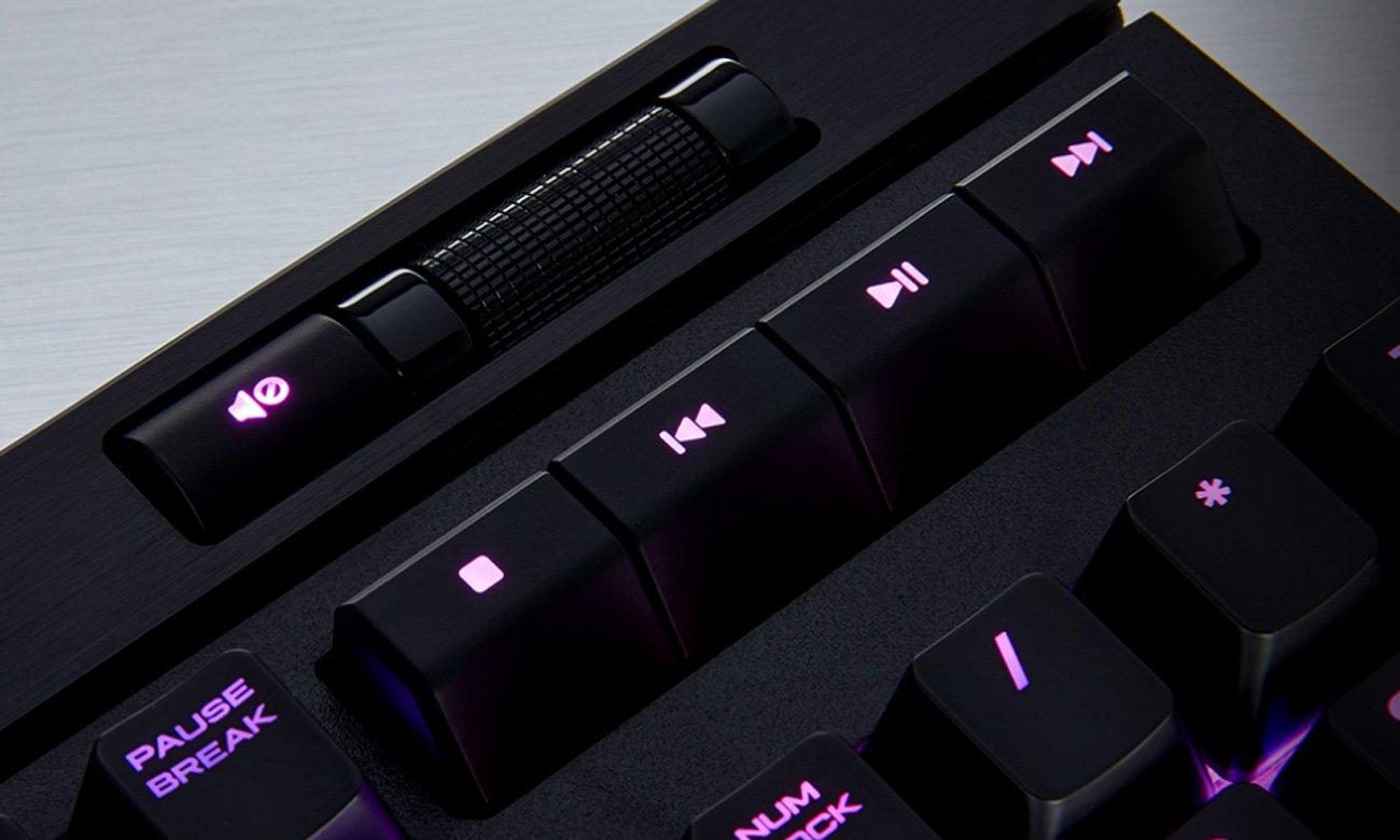 Corsair STRAFE RGB MK.2 Klawisze Multimedialne