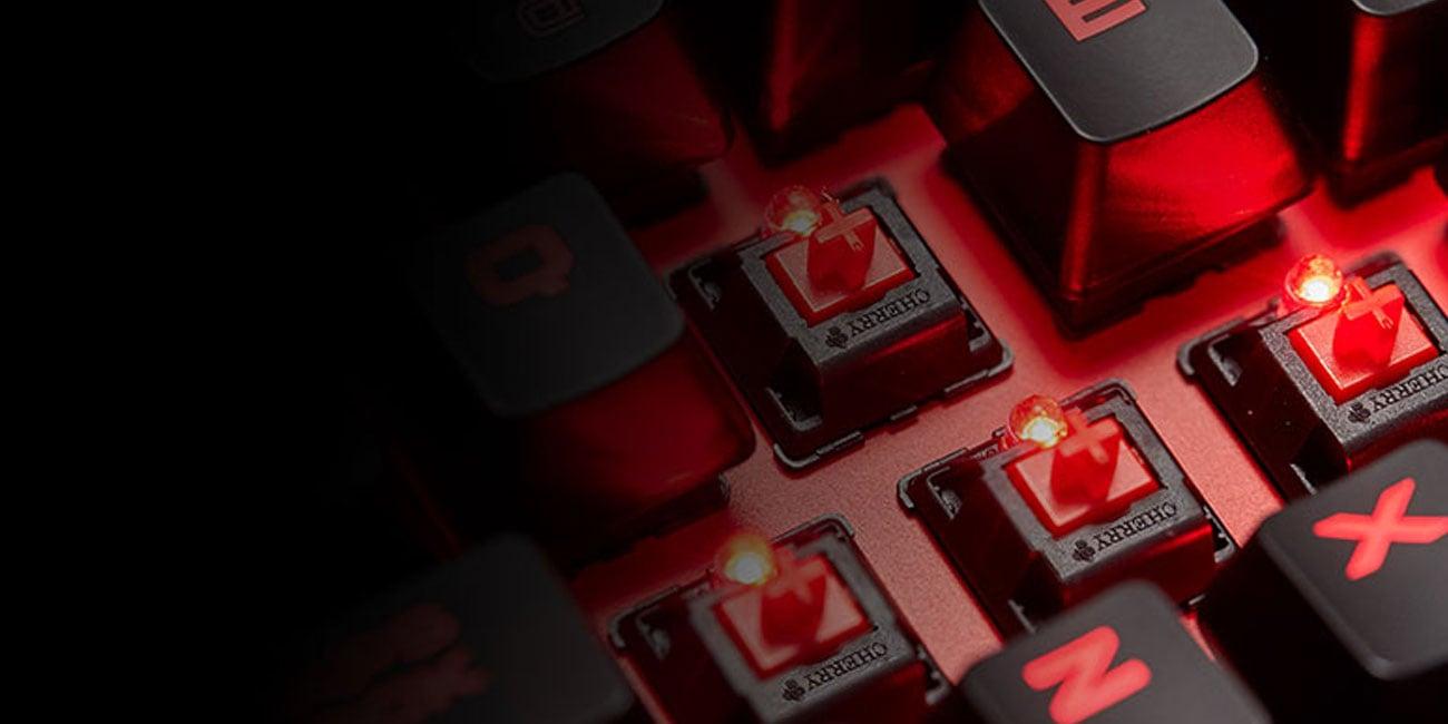 Corsair K63 Compact Przełączniki Cherry MX Red