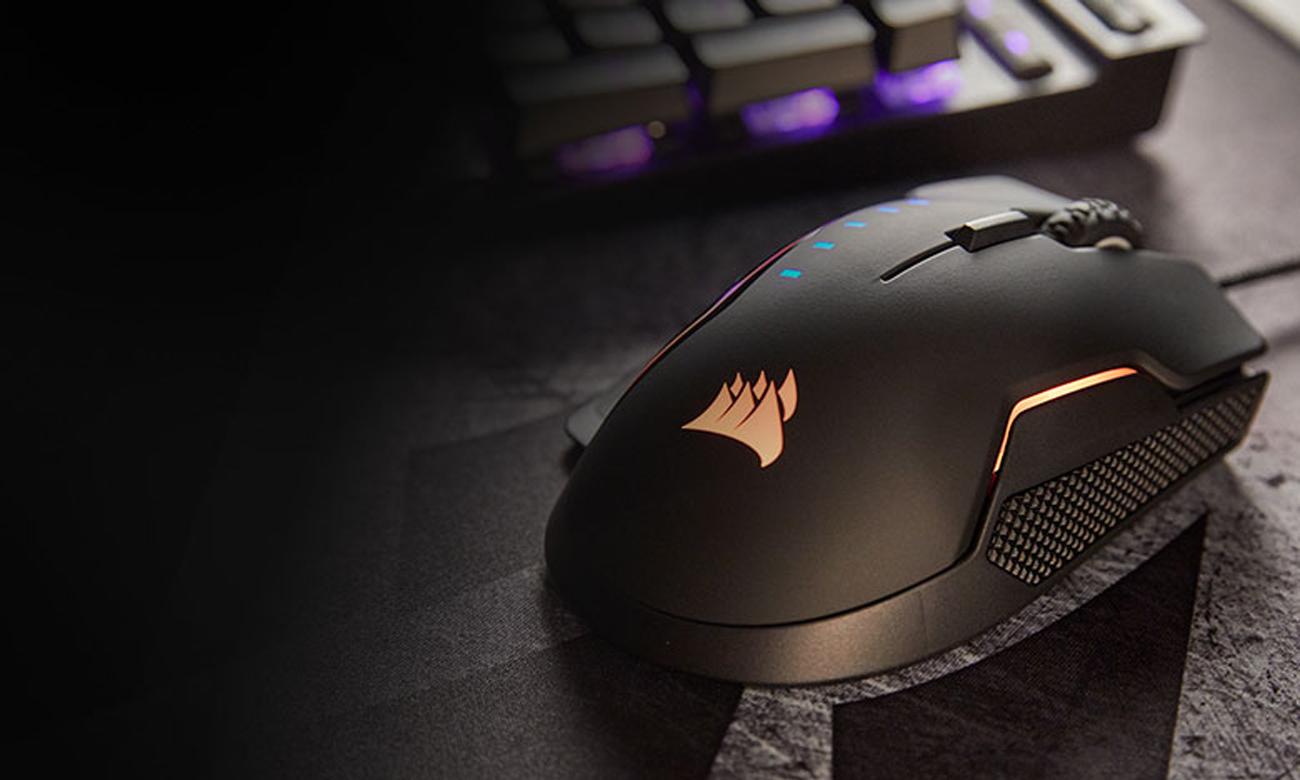 Corsair Glaive RGB Gaming Mouse Sensor Optyczny