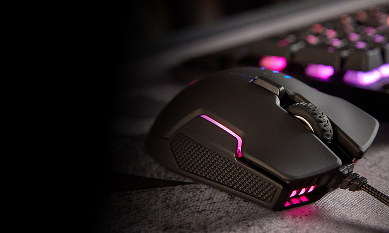 Corsair Glaive RGB Gaming Mouse Podświetlenie