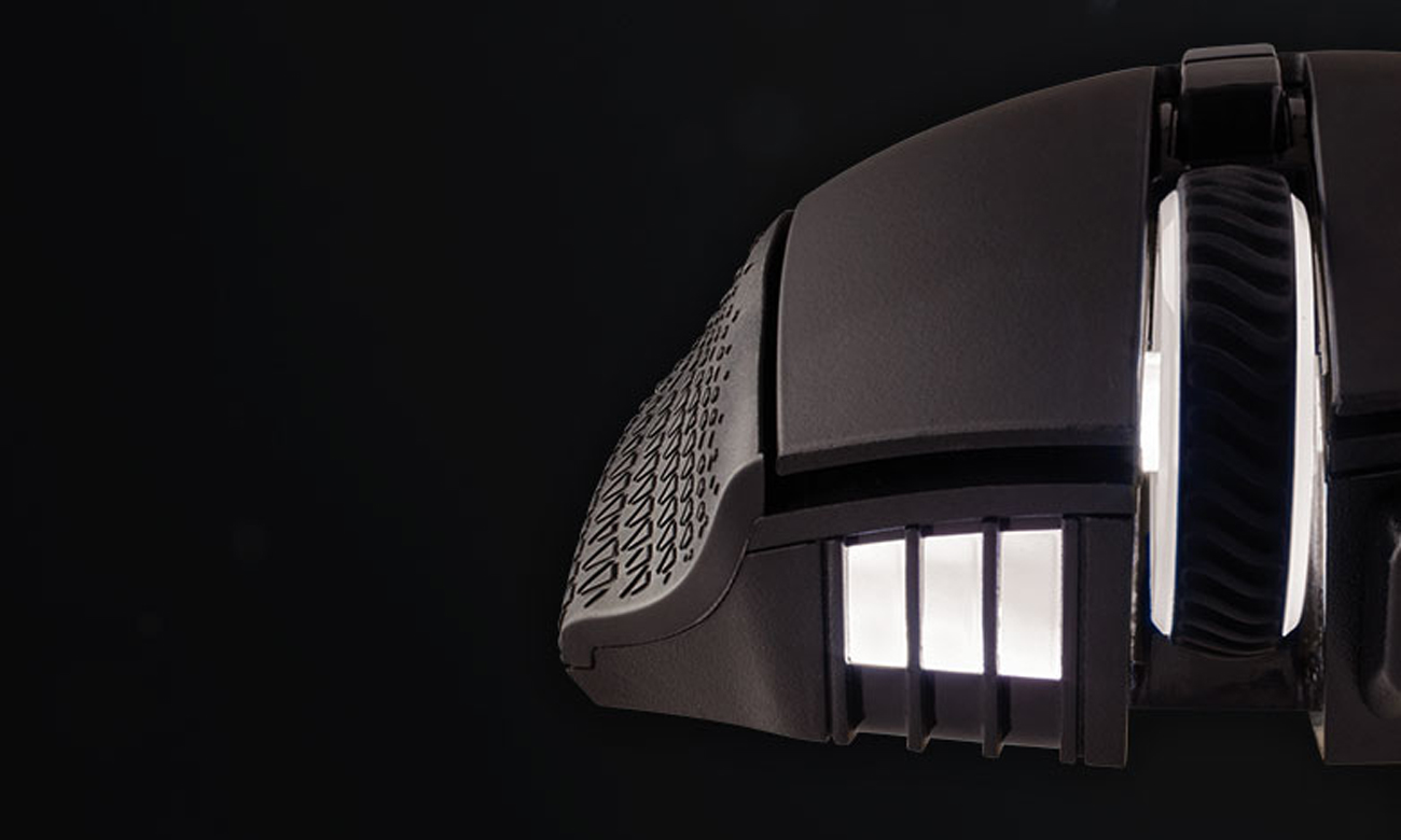 Corsair Scimitar PRO RGB Podświetlenie