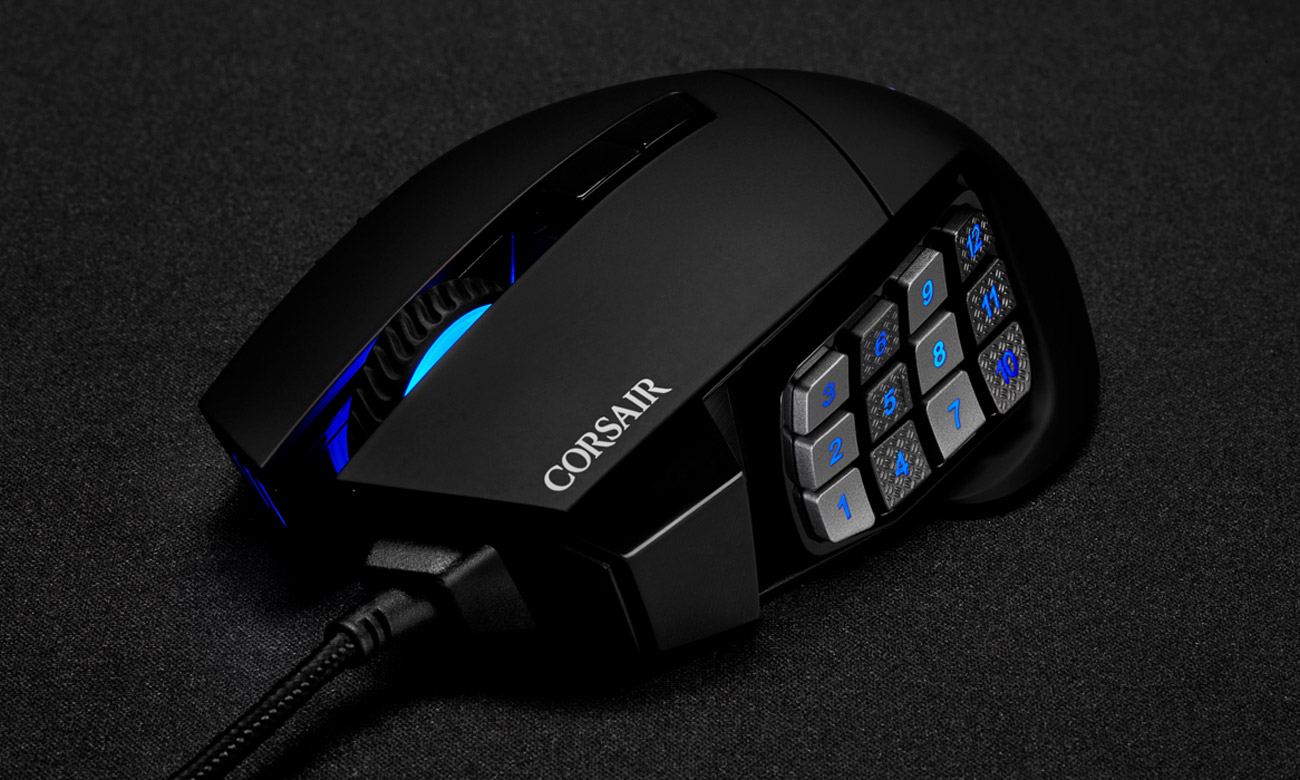 Mysz dla graczy Corsair Scimitar Elite