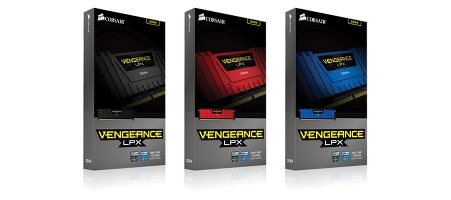 Pamięć DDR4 Corsair 16384MB 2666MHz Vengeance LPX Red CL15