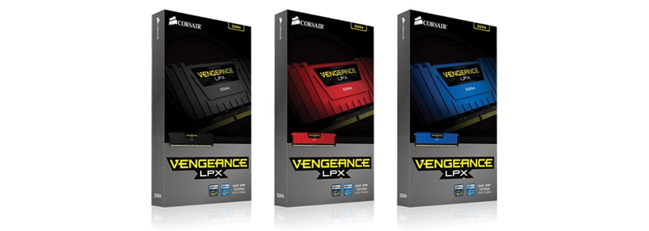 Pamięć DDR4 Corsair 16384MB 2800MHz Vengeance LPX Red CL16