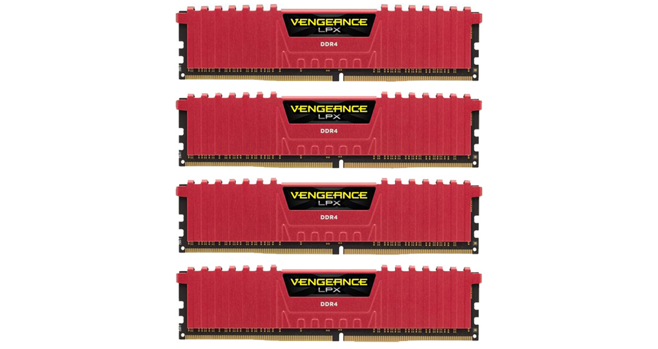 16GB 2133MHz Vengeance LPX Red CL13
