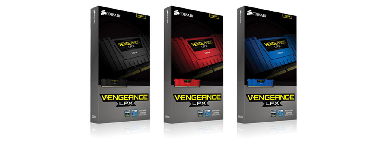 Pamięć DDR4 Corsair 16384MB 2666MHz Vengeance LPX Red CL15 kompatybilność
