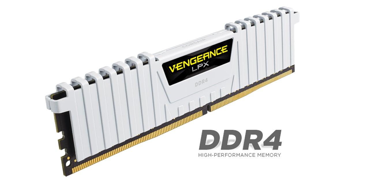 Pamięć RAM DDR4 Corsair Vengeance LPX White