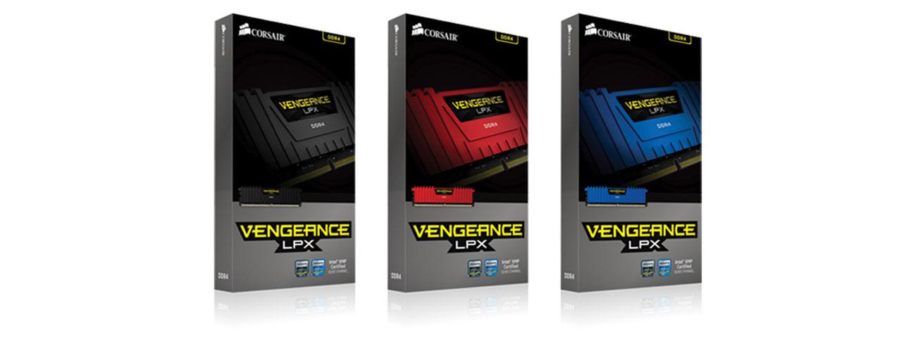 DDR4 Corsair Vengeance LPX