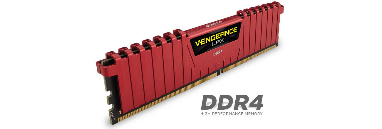 RAM DDR4 Corsair Vengeance LPX RED