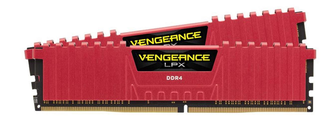 Corsair Vengeance LPX Red CL18 3600MHz 16GB