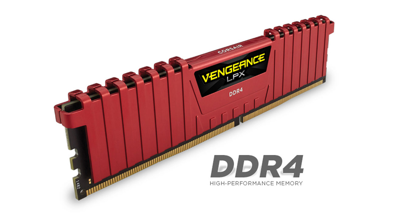Corsair 4GB 2400MHz Vengeance LPX Red CL16