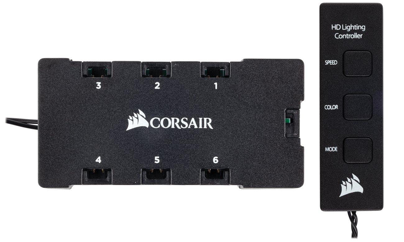 Corsair HD120 RGB LED 3x120mm + kontroler CO-9050067-WW