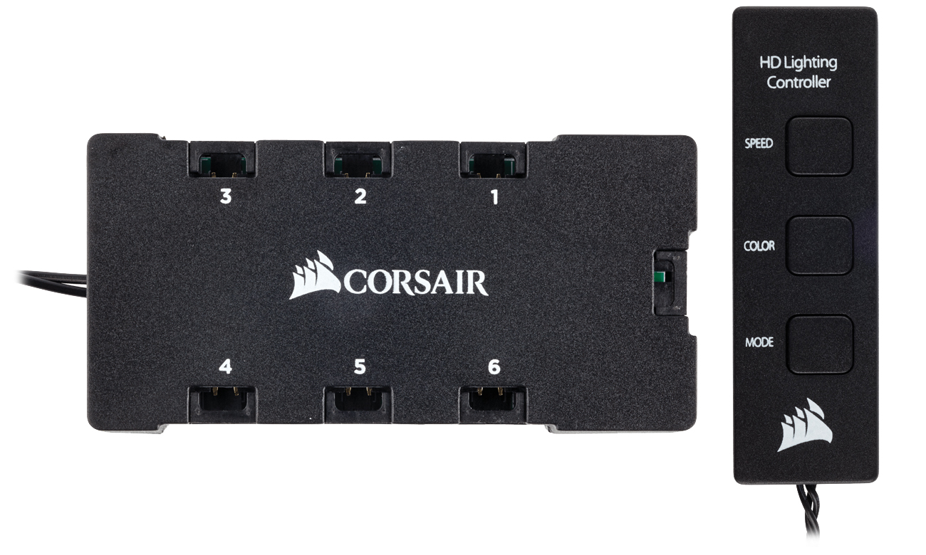 Corsair HD140 RGB LED 2x140mm + kontroler CO-9050069-WW
