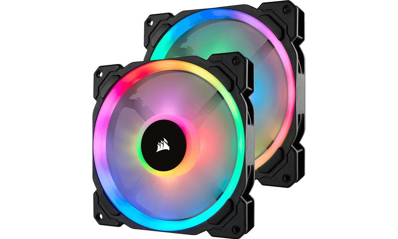Zestaw Corsair LL140 RGB LED
