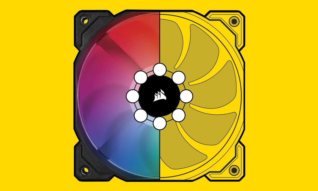 Corsair iCUE SP120 RGB PRO - Podświetlenie LED RGB