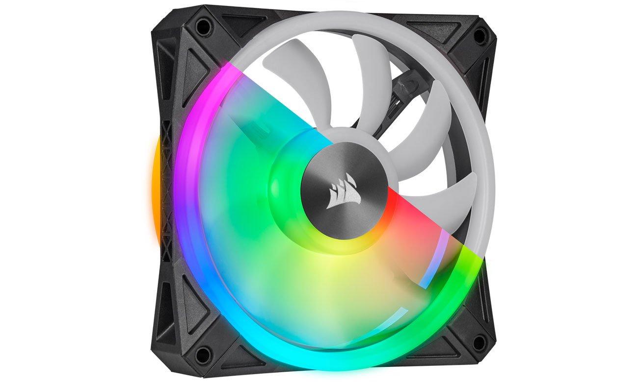 Corsair iCUE QL120 - Podświetlenie RGB