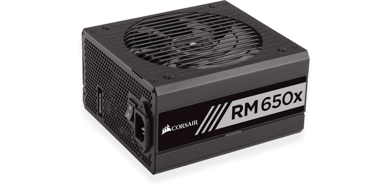 Corsair RM650X 650W Gold BOX wydajnosc
