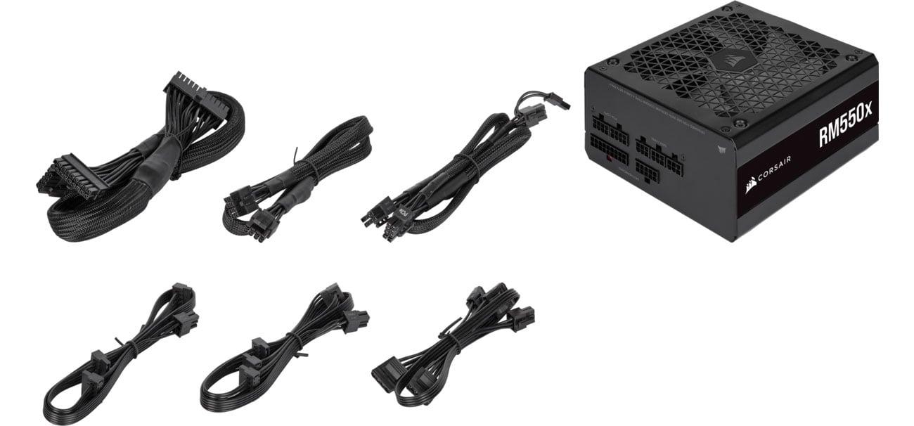 Corsair RM550x - Modularne kable