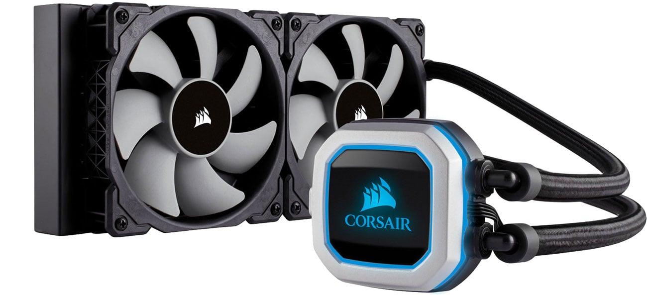 Chłodzenie wodne Corsair Hydro Series H100i Pro CW-9060033-WW