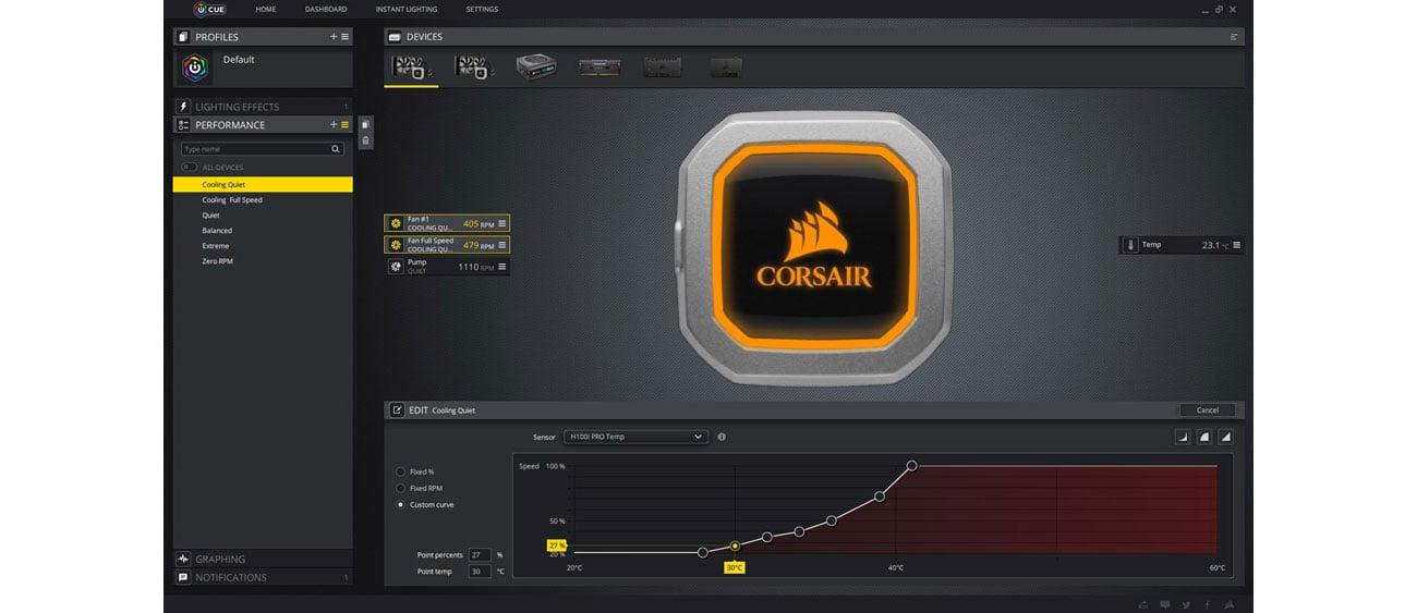Corsair Hydro Series H100i Pro Corsair iCUE