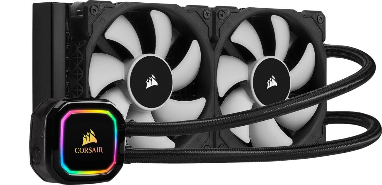 Chłodzenie procesora Corsair iCUE H100i RGB PRO XT 2x120mm CW-9060043-WW
