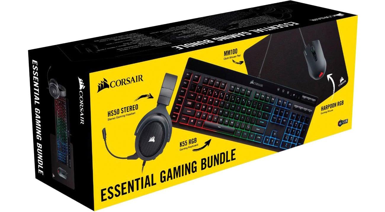 Zestaw Corsair Essential Gaming Bundle CH-9206215-NA