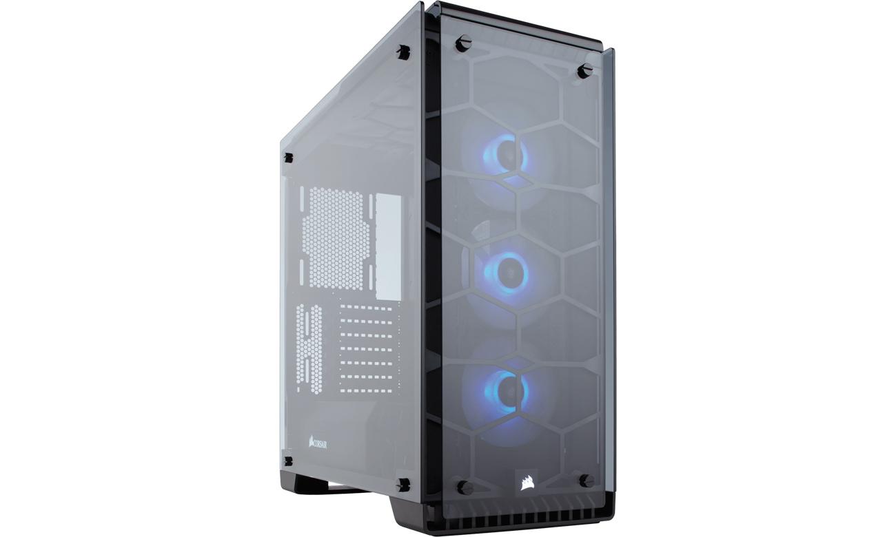Corsair Crystal Series 570X RGB panel przedni