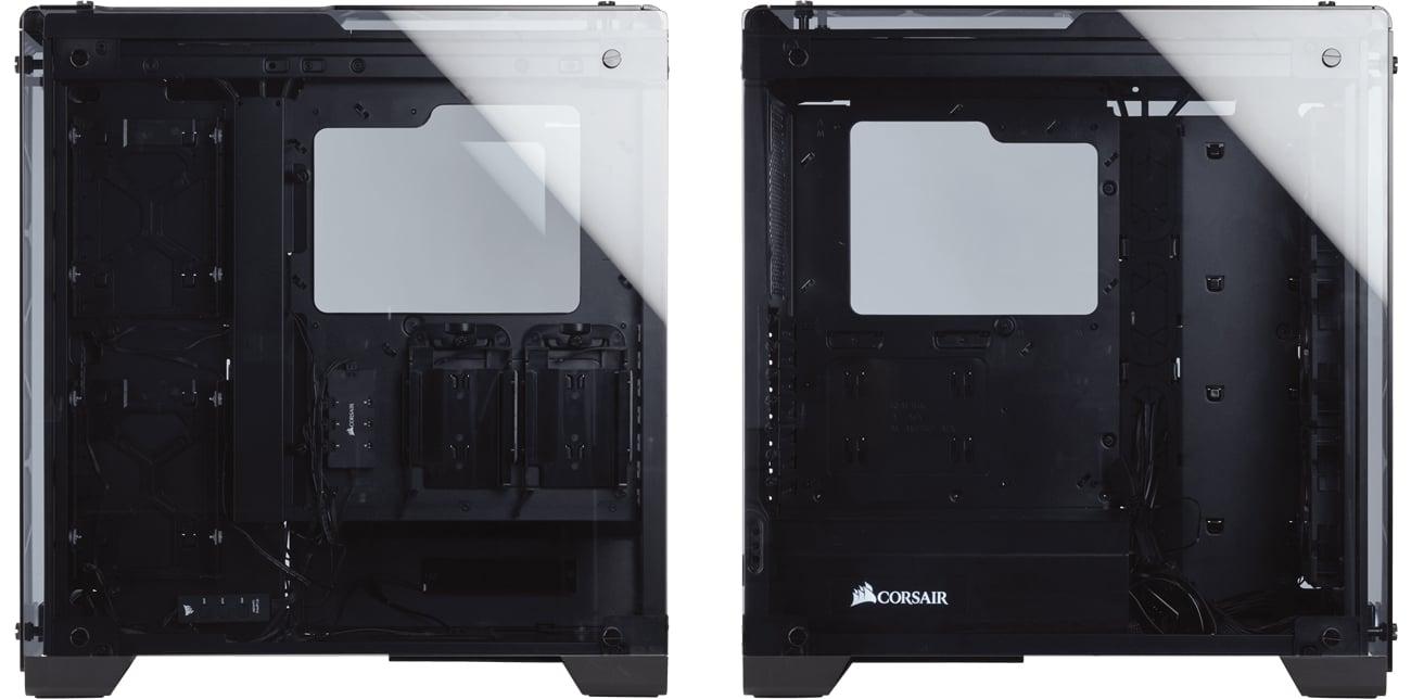 Corsair Crystal Series 570X RGB wnętrze