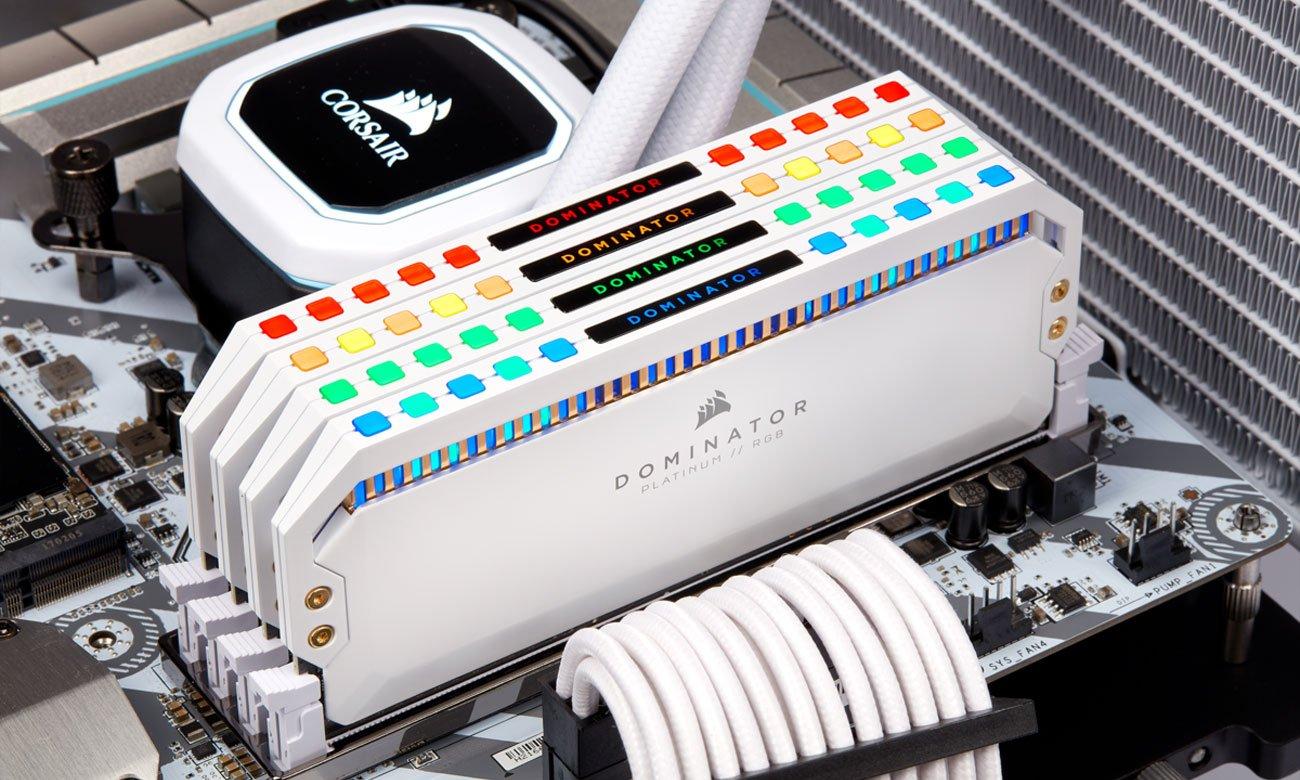Corsair Dominator Platinum RGB Podświetlenie LED, iCUE