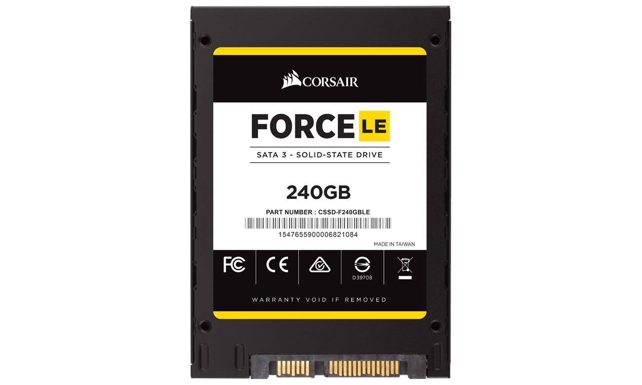 Corsair 240GB 2,5'' SATA SSD Force LE 7mm CSSD-F240GBLEB
