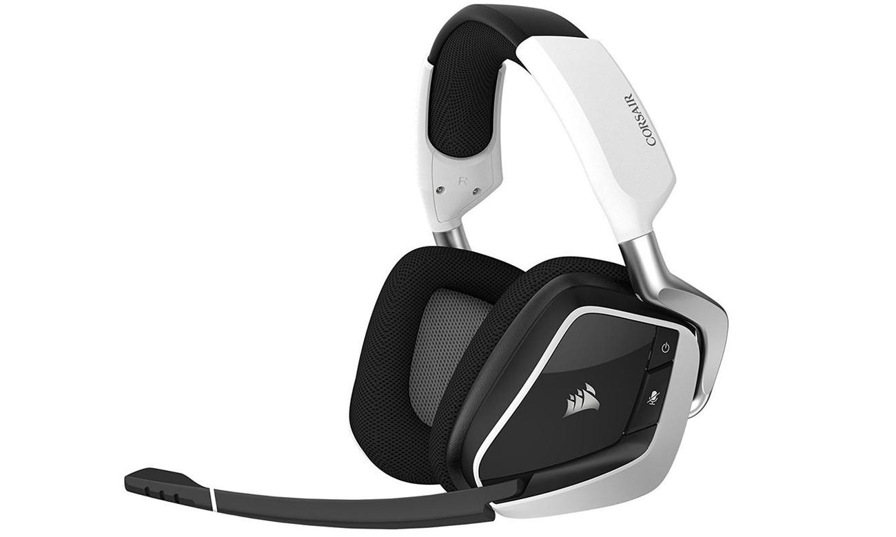 Słuchawki bezprzewodowe Corsair Gaming VOID PRO RGB Białe