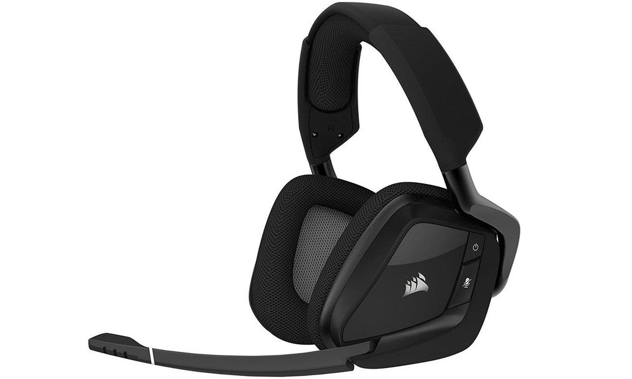 Słuchawki bezprzewodowe Corsair Gaming VOID PRO RGB Czarne