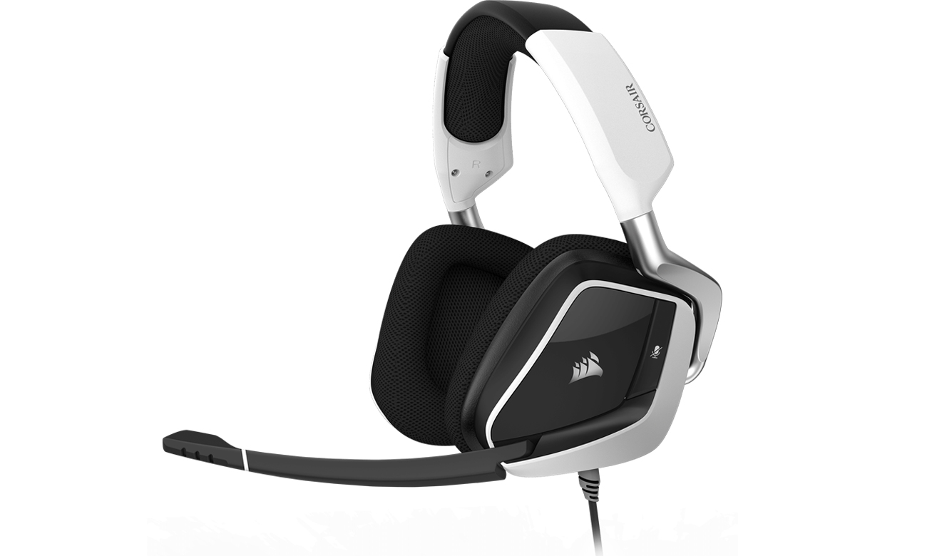 Słuchawki przewodowe Corsair Gaming VOID PRO RGB Białe