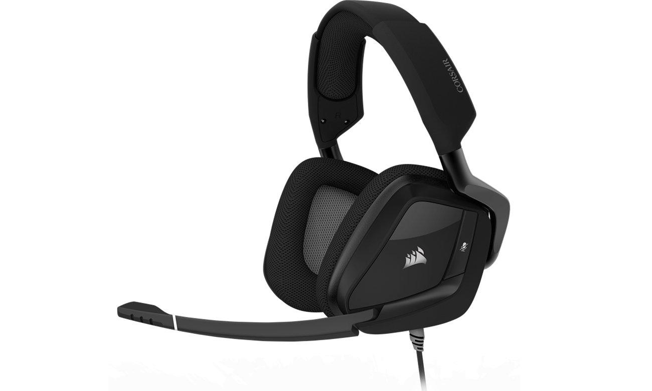 Słuchawki przewodowe Corsair Gaming VOID PRO RGB Czarne