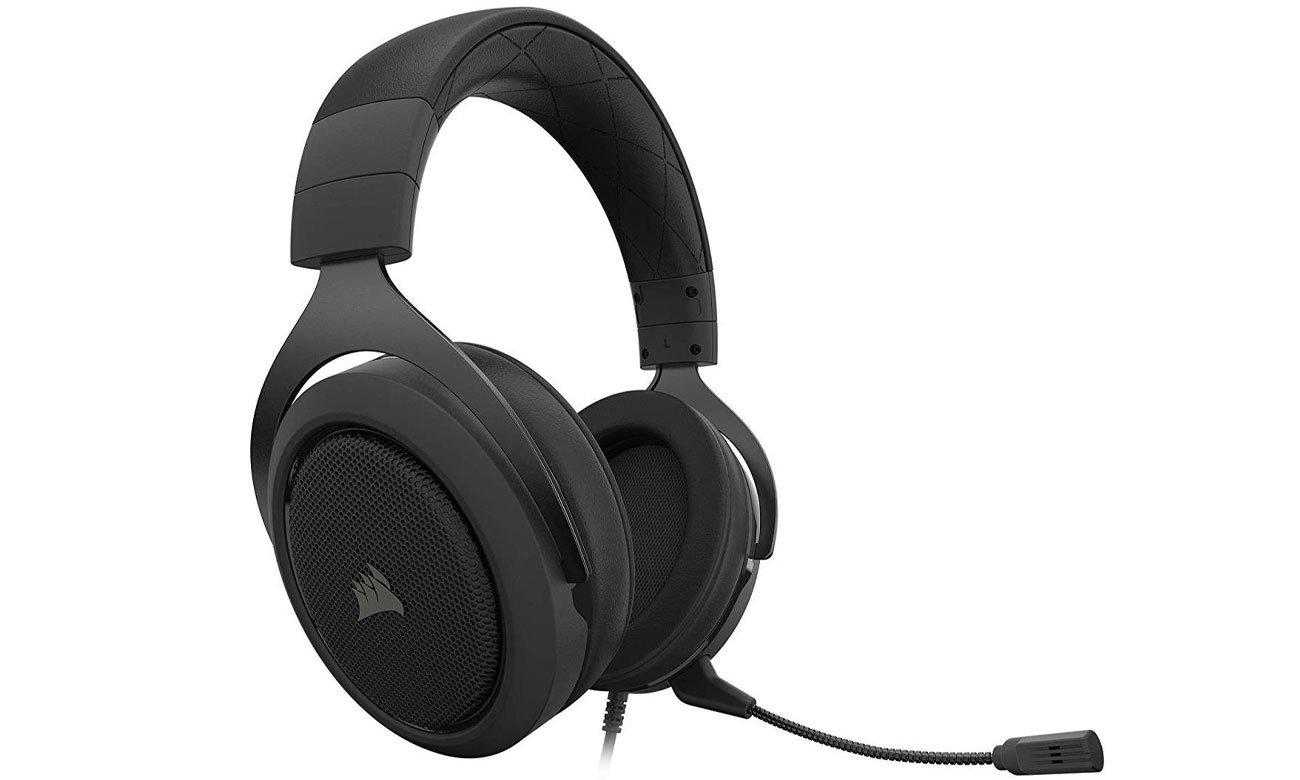 Zestaw słuchawkowy Corsair HS50 Pro w kolorze czarnym