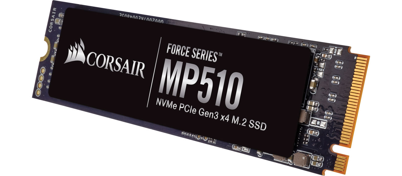 Dysk SSD Corsair 480GB M.2 NVMe PCIe x4 SSD Force Series MP510 CSSD-F480GBMP510