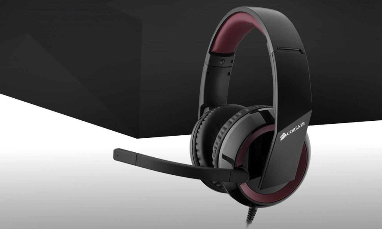 Corsair Raptor HS40 Gaming USB 7.1  wyoska jakość dźwięku