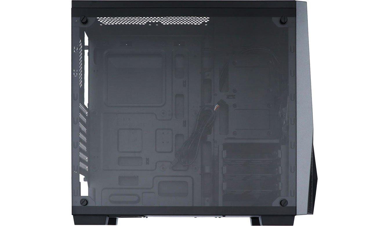 Corsair Carbide Series Spec-04 TG - Wnętrze, boczny panel ze szkła