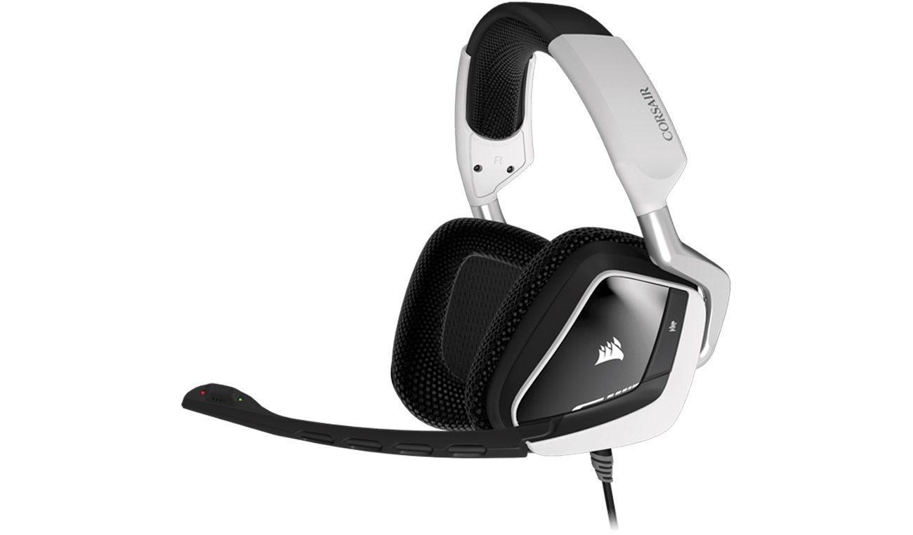 Corsair VOID RGB USB Dolby 7.1 Gaming Headset Centrum kontroli w mikrofonie