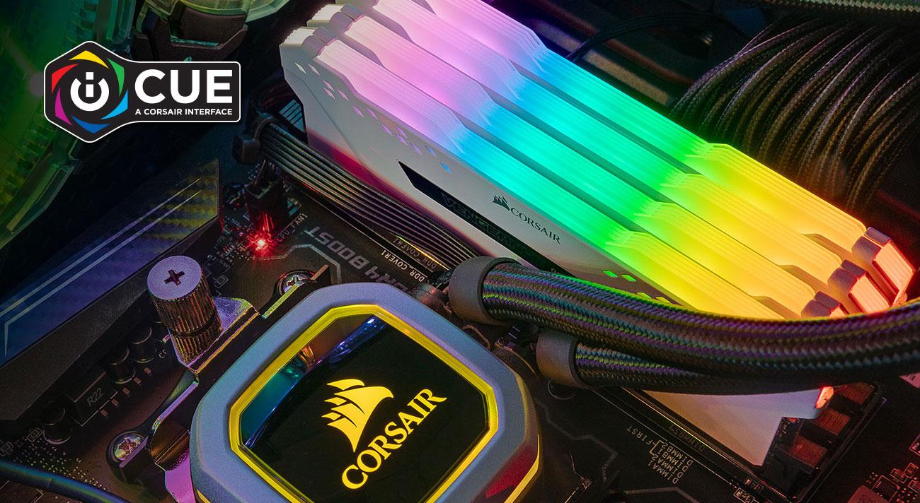 Corsair Vengeance RGB Pro Podświetlenie z iCUE