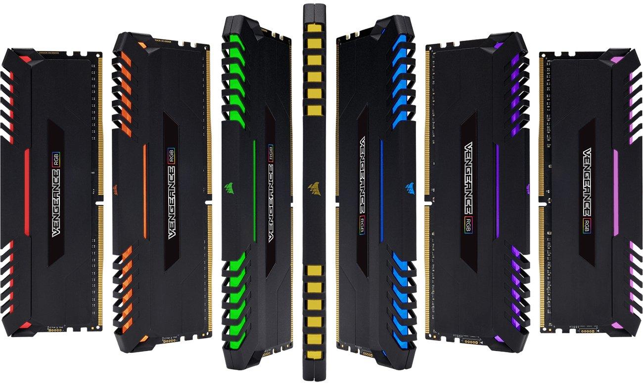 Corsair Vengeance podświetlenie RGB LED