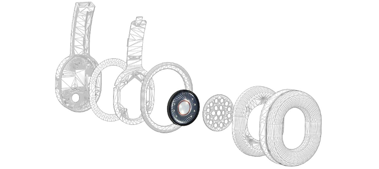 Słuchawki bezprzewodowe Creative Outlier czarne