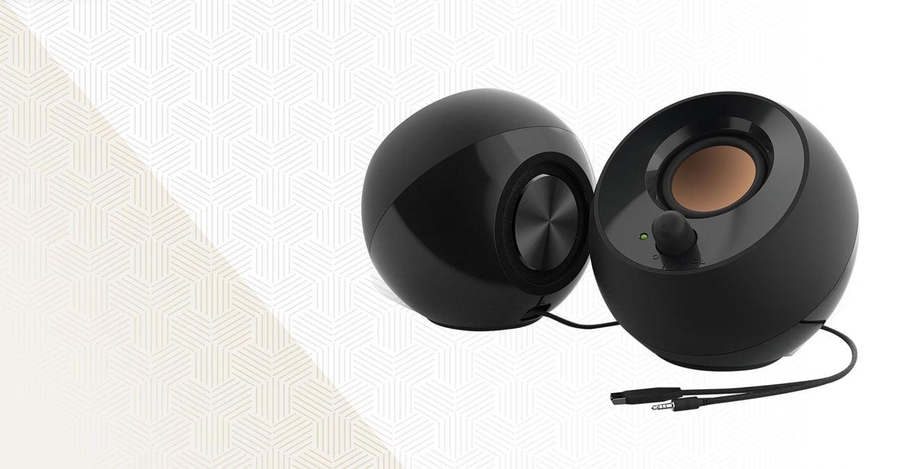 Głośniki biurkowe 2.0 Creative Pebble