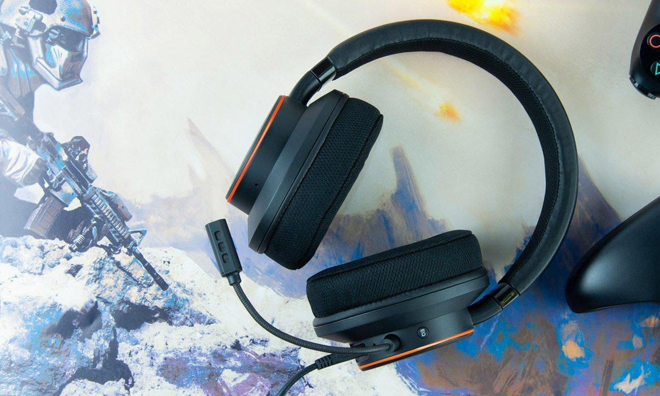 Creative Sound BlasterX H6 Zestaw słuchawkowy do gier z dźwiękiem Virtual Surround